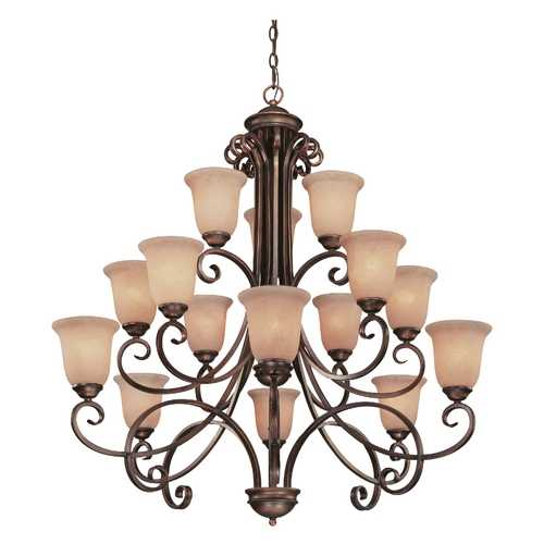 Dolan Designs Lighting Fifteen-Light Chandelier 2093-133