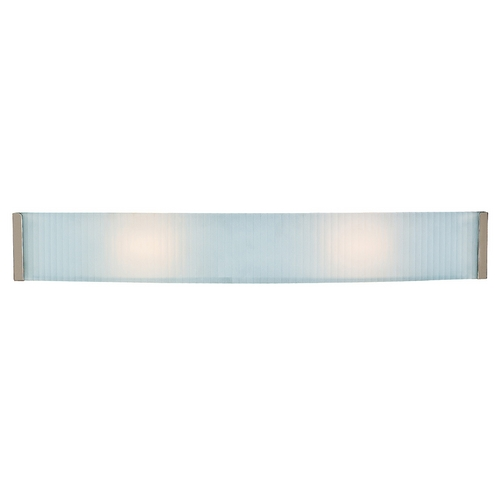 Access Lighting Access Lighting Helium Brushed Steel LED Bathroom Light 62043LEDD-BS/CKF