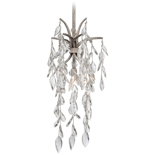 Metropolitan Lighting Metropolitan Bella Flora Silver Mist Mini-Pendant Light N6861-278