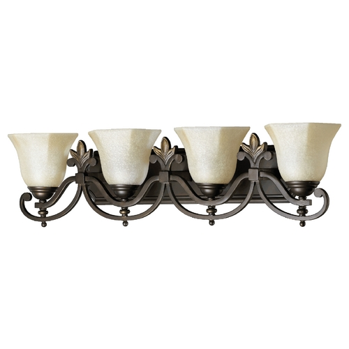 Quorum Lighting Quorum Lighting Marcela Oiled Bronze Bathroom Light 5031-4-86