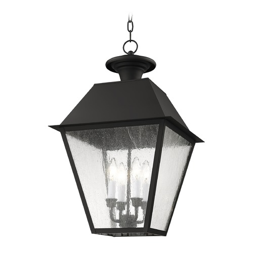 Livex Lighting Livex Lighting Mansfield Black Outdoor Hanging Light 2174-04