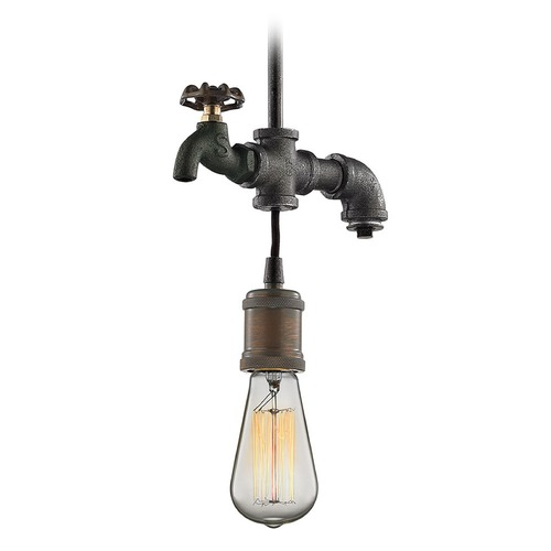 Elk Lighting Elk Lighting Jonas Multi-Tone Weathered Mini-Pendant Light 14285/1