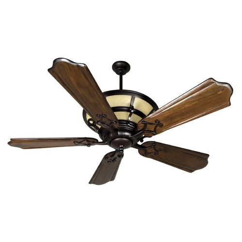 Craftmade Lighting Craftmade Lighting Hathaway Oiled Bronze Ceiling Fan with Light K10706