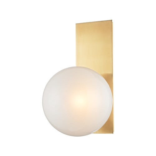 Hudson Valley Lighting Hudson Valley Lighting Hinsdale Aged Brass Sconce 8701-AGB