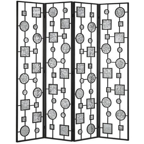 Currey and Company Lighting Currey and Company Gallerist Blacksmith Room Divider 4000-0004
