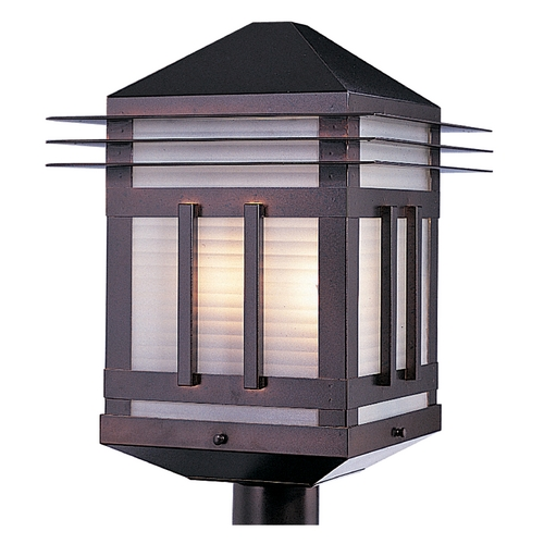 Maxim Lighting Maxim Lighting Gatsby Burnished Post Light 8725PRBU