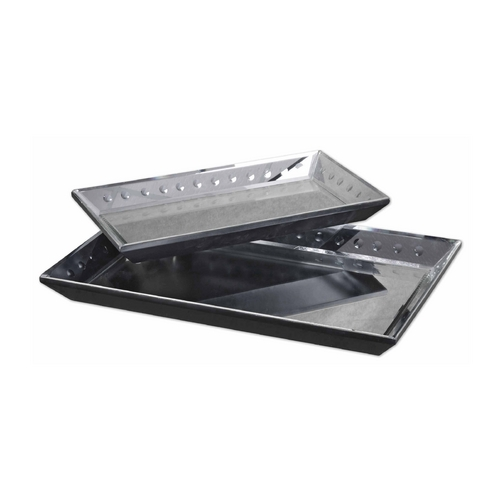 Uttermost Lighting Modern Tray in Matte Black Finish 19026