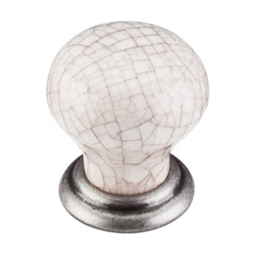 Top Knobs Hardware Cabinet Knob in Pewter Antique Finish M110
