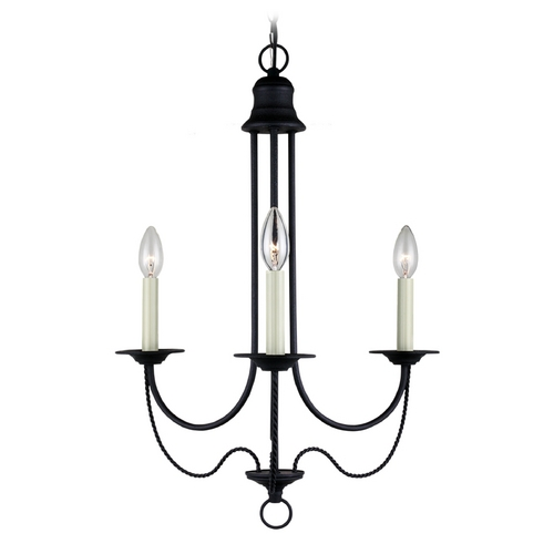 Sea Gull Lighting Mini-Chandelier in Blacksmith Finish 31290-839