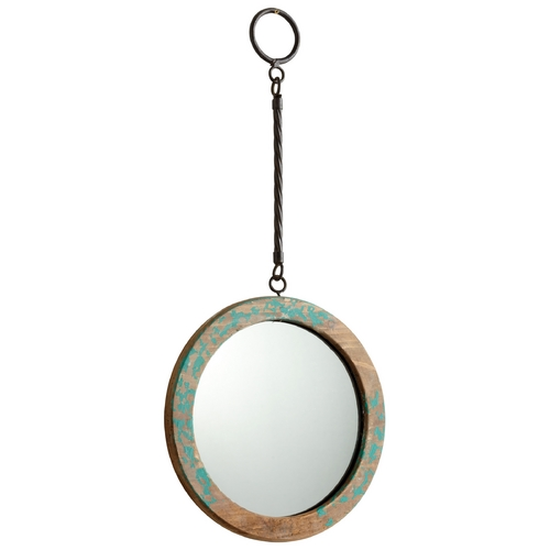 Cyan Design Through the Looking Glass Round 9-Inch Mirror 06157