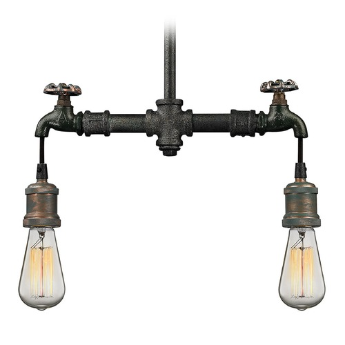 Elk Lighting Elk Lighting Jonas Multi-Tone Weathered Pendant Light 14286/2