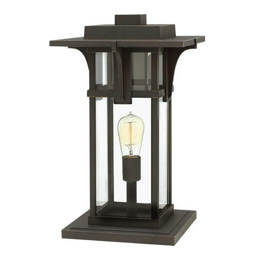 Hinkley Lighting Hinkley Lighting Manhattan Oil Rubbed Bronze LED Post Light 2327OZ-LED