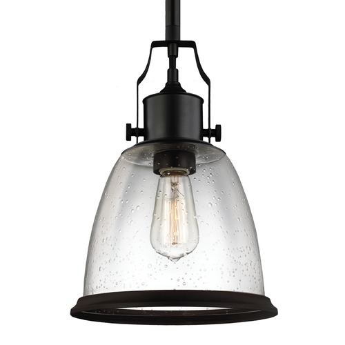 Feiss Lighting Feiss Hobson Oil Rubbed Bronze Mini-Pendant Light P1355ORB