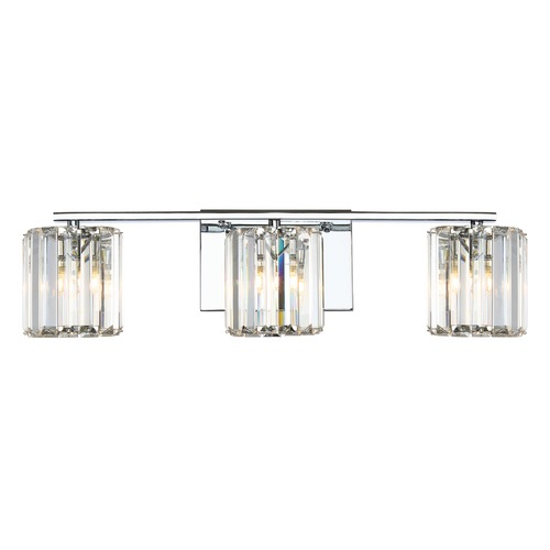 Quoizel Lighting Quoizel Lighting Platinum Collection Divine Polished Chrome Bathroom Light PCDV8603CLED