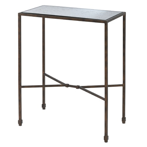 Currey and Company Lighting Currey and Company Roden Cupertino / Antique Accent Table 4000-0006
