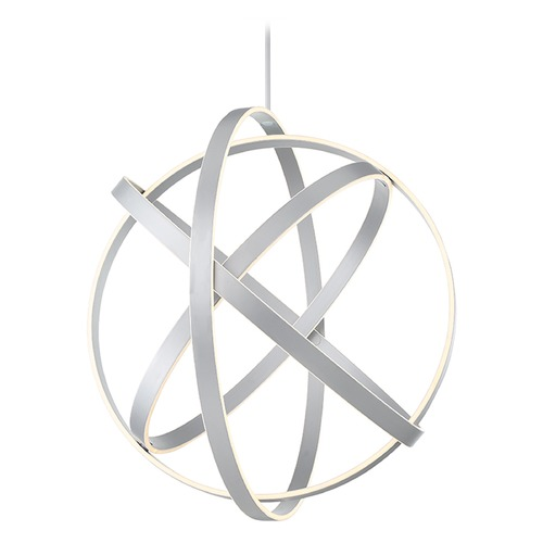 Modern Forms by WAC Lighting Kinetic LED Chandelier PD-61738-TT