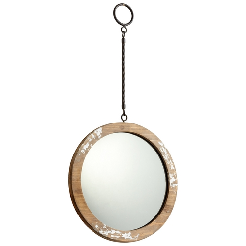 Cyan Design Through the Looking Glass Round 11-Inch Mirror 06158