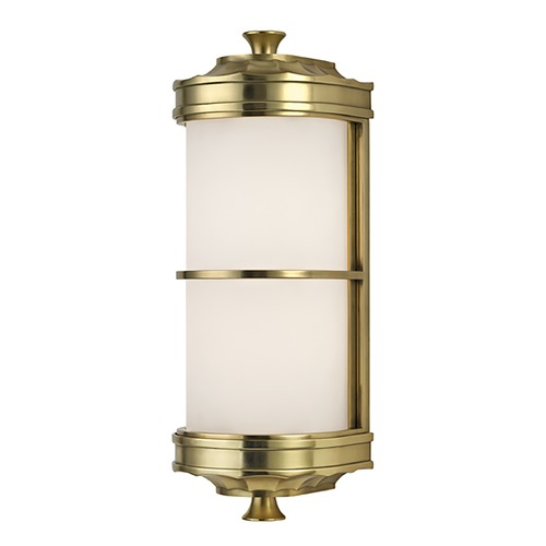 Hudson Valley Lighting Albany 1 Light Sconce - Aged Brass 3831-AGB