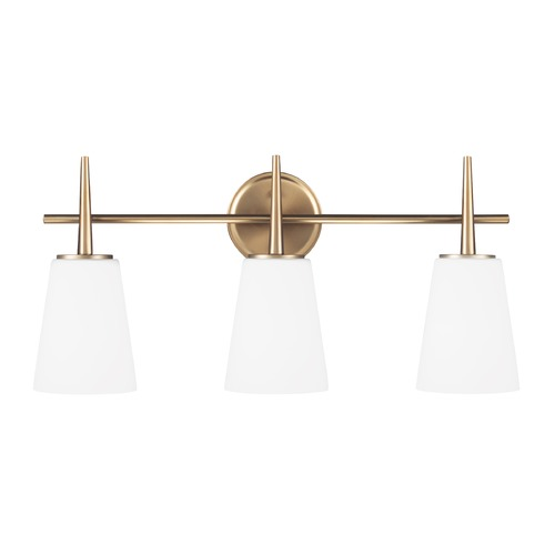 Sea Gull Lighting Sea Gull Lighting Driscoll Satin Bronze Bathroom Light 4440403-848