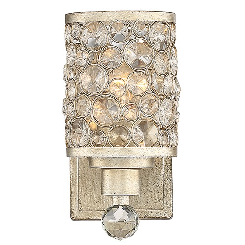 Savoy House Savoy House Guilford Aurora Sconce with Clear Crystal 9-7015-1-100