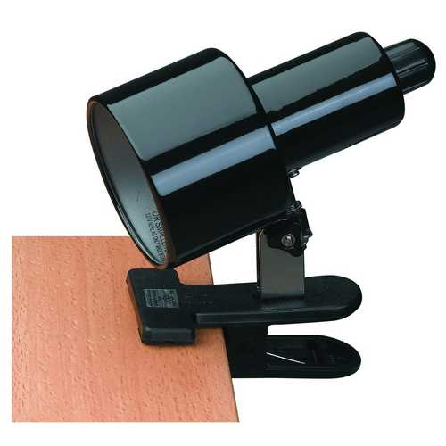 Lite Source Lighting Lite Source Lighting Clip-On Clamp Desk Lamp LSF-112BLK