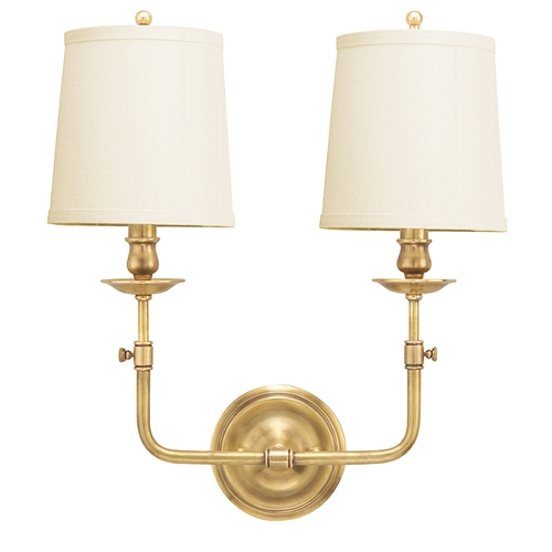 Hudson Valley Lighting Aged Brass Wall Sconce 172-AGB