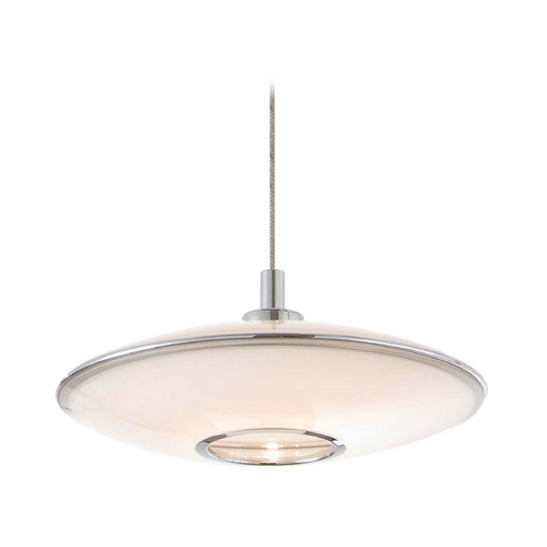 Holtkoetter Lighting Holtkoetter Modern Low Voltage Pendant Light with White Glass C8110 S006 GB20 CH