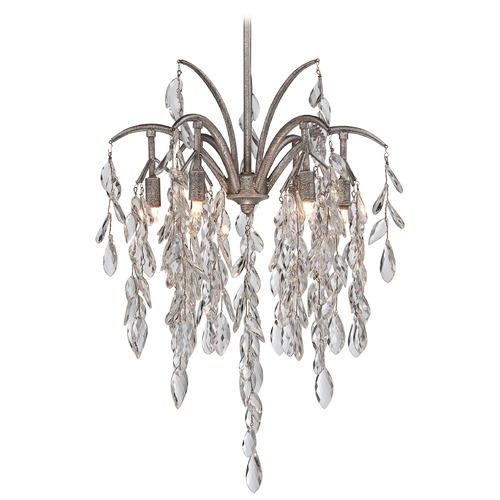 Metropolitan Lighting Metropolitan Bella Flora Silver Mist Pendant Light N6866-278