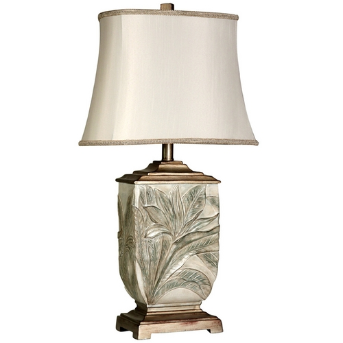 StyleCraft Stylecraft Brass Table Lamp with Bell Shade L31612DS