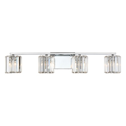 Quoizel Lighting Quoizel Lighting Platinum Collection Divine Polished Chrome Bathroom Light PCDV8604CLED