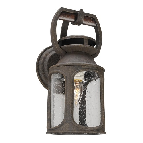 Troy Lighting Troy Lighting Old Trail Centennial Rust Outdoor Wall Light BF4511