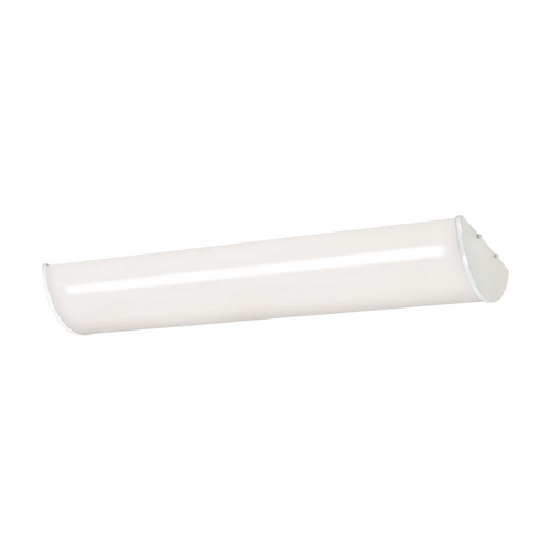 Nuvo Lighting Flushmount Light with White in White Finish 60/919