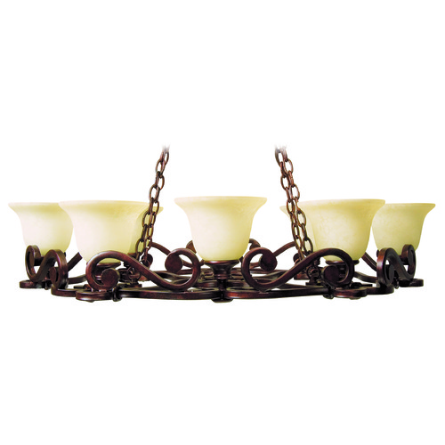 Craftmade Lighting Craftmade Toscana Peruvian Bronze Chandelier 9138PR8