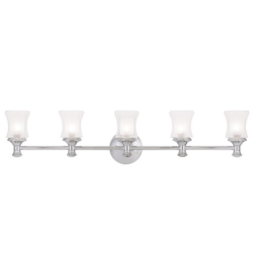 Livex Lighting Livex Lighting Randolph Chrome Bathroom Light 1465-05