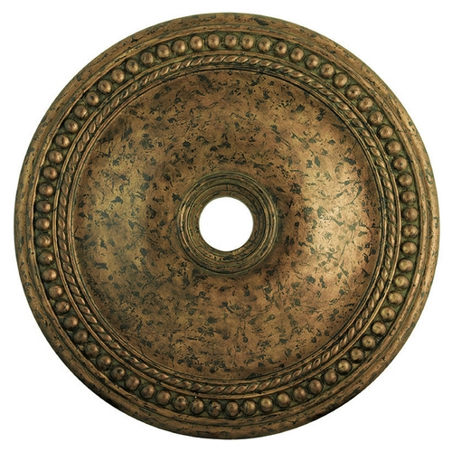 Livex Lighting Livex Lighting Wingate Hand Applied Venetian Golden Bronze Ceiling Medallion 82077-71