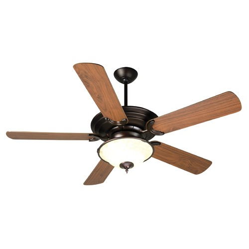 Craftmade Lighting Craftmade Lighting Metro Oiled Bronze Ceiling Fan with Light K10722