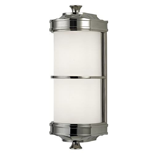 Hudson Valley Lighting Albany 1 Light Sconce - Polished Nickel 3831-PN
