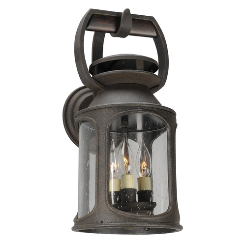 Troy Lighting Troy Lighting Old Trail Centennial Rust Outdoor Wall Light BF4512