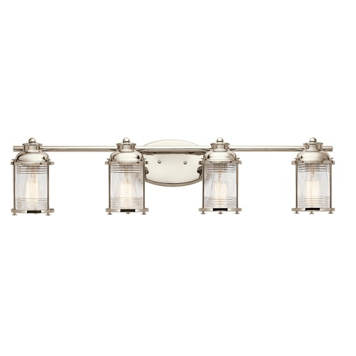 Kichler Lighting Kichler Lighting Ashland Bay Polished Nickel Bathroom Light 45773PN