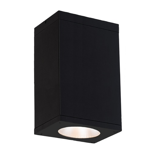 WAC Lighting Wac Lighting Cube Arch Black LED Close To Ceiling Light DC-CD06-S830-BK