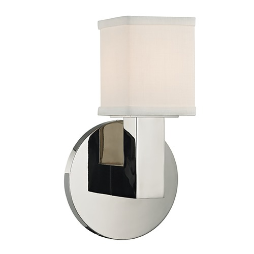 Hudson Valley Lighting Hudson Valley Lighting Clarke Polished Nickel LED Sconce 5451-PN