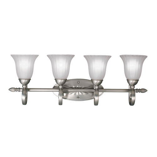 Kichler Lighting Kichler Bathroom Light in Brushed Nickel Finish 5929NI