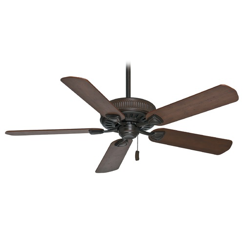 Casablanca Fan Co Casablanca Fan Ainsworth Brushed Cocoa Ceiling Fan Without Light 54001