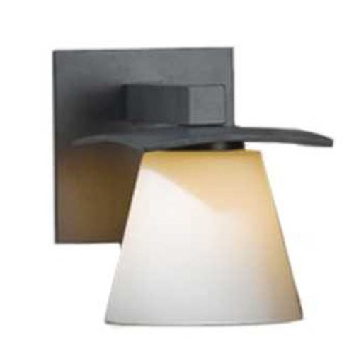 Hubbardton Forge Lighting Sconce with Opal Shade 206601-07-G242