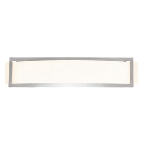 Access Lighting Access Lighting Argon Brushed Steel LED Sconce 62105LED-BS/OPL
