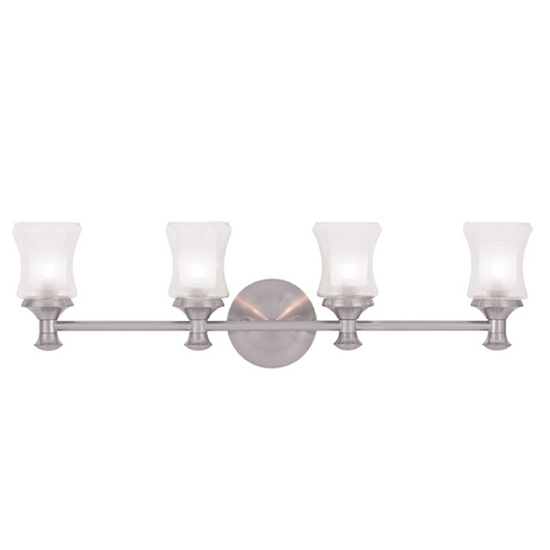 Livex Lighting Livex Lighting Randolph Brushed Nickel Bathroom Light 1464-91