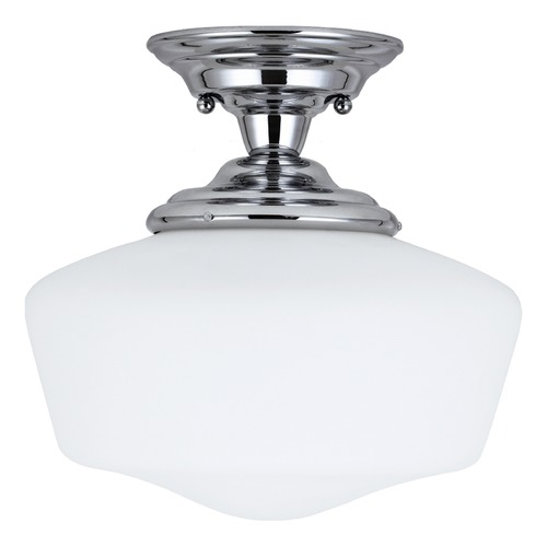 Sea Gull Lighting Sea Gull Lighting Academy Chrome LED Semi-Flushmount Light 7743791S-05
