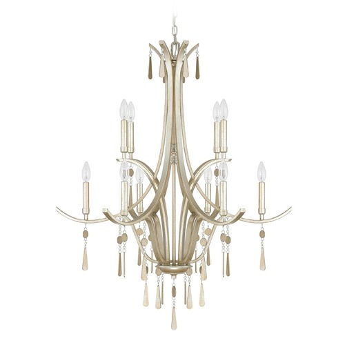 Capital Lighting Capital Lighting Berkeley Winter Gold Chandelier 4960WG-000