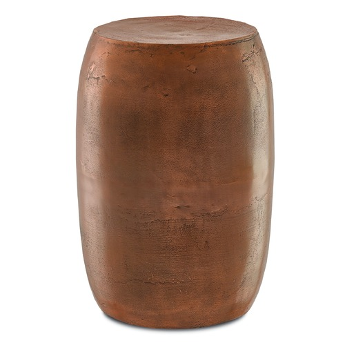 Currey and Company Lighting Currey and Company Rumi Antique Copper Barstool 4000-0010