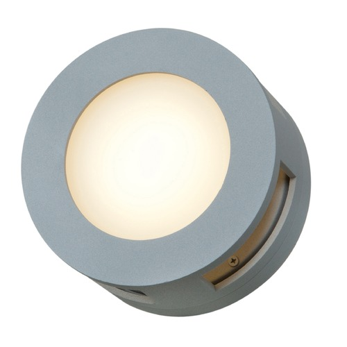Access Lighting Access Lighting Nymph Satin Nickel Outdoor Wall Light 20375MG-SAT/FST